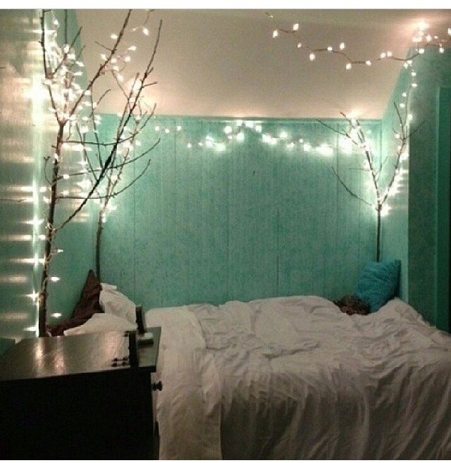 Beautiful teal bedroom! (Think I might be too old for this one though)