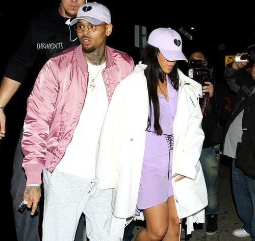 chris brown, rihanna, and perfect image