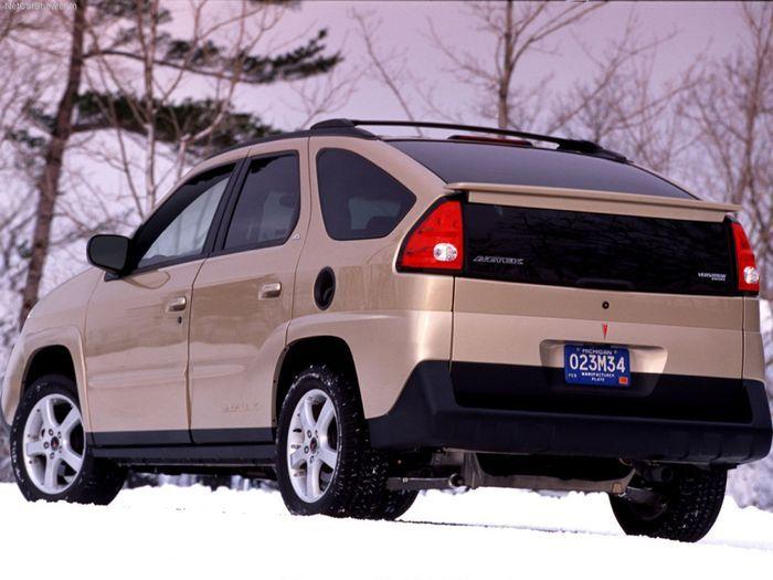 Pontiac Aztek - most versatile car ever; no longer available; so sad