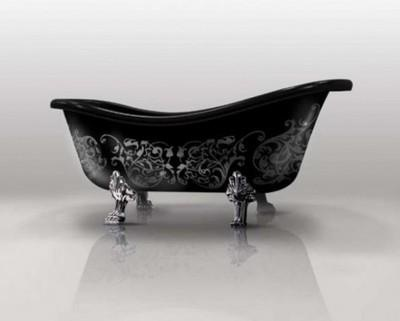 Black Freestanding Bathtubs By Gruppo Treesse | DigsDigs