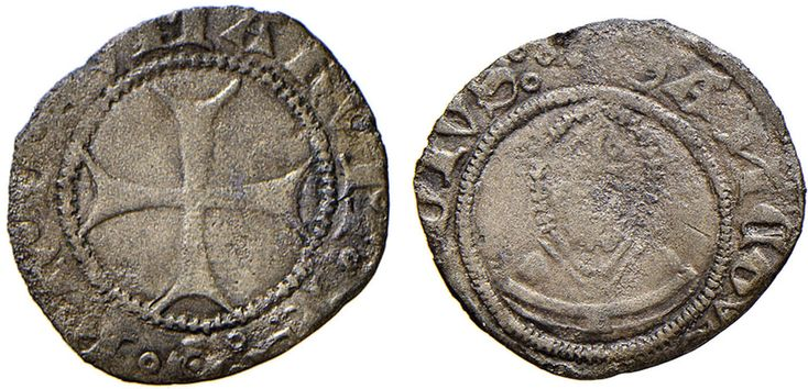 NumisBids: Nomisma Spa Auction 51, Lot 1312 : COMO Franchino II Rusca (1408-1412) Sesino – Biaggi 654 MI (g 0,56)...