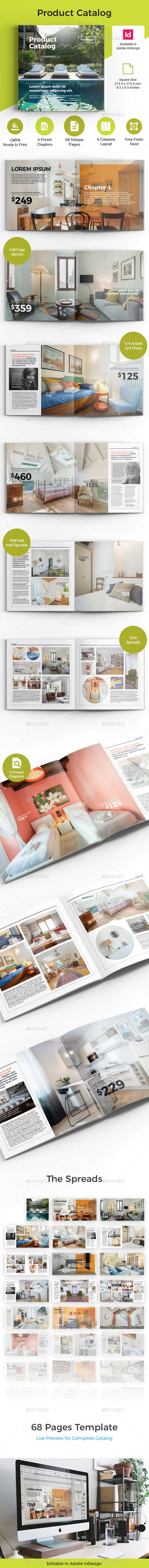 Product Catalog Template InDesign INDD