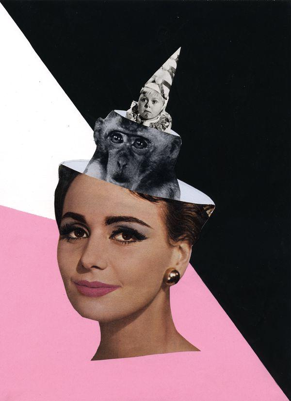Collage for Käptn Peng. Paper, Scissor & glue by simone cihlar