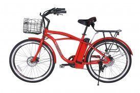 NEW 2015 Newport Electric Beach Cruiser Bicycle