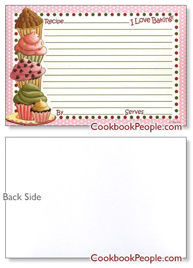 1707 best Printables - Recipe cards, Etc. images on Pinterest ...
