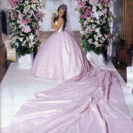 10 Outrageous Celebrity Wedding Dresses | TheRichest