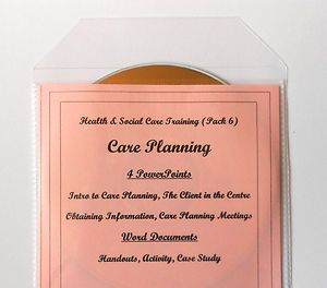 Care Planning in Health and Social Care. This teaching resource pack involves learners in thinking through specific scenarios with a variety of learning activities aimed at getting the learners to make actual decisions.  Suitable for BTEC and QCF  and other health and social care courses. Themes - Introduction to Care Planning, Client in the Centre, Obtaining Information, Planning Meetings.
