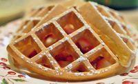 Gale Gand (Recipe: Waffled crepe batter) - Waffleizer