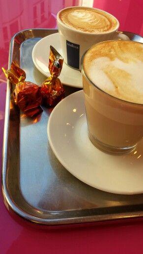 Koffie met een zachte G. Pinky - Maastricht.