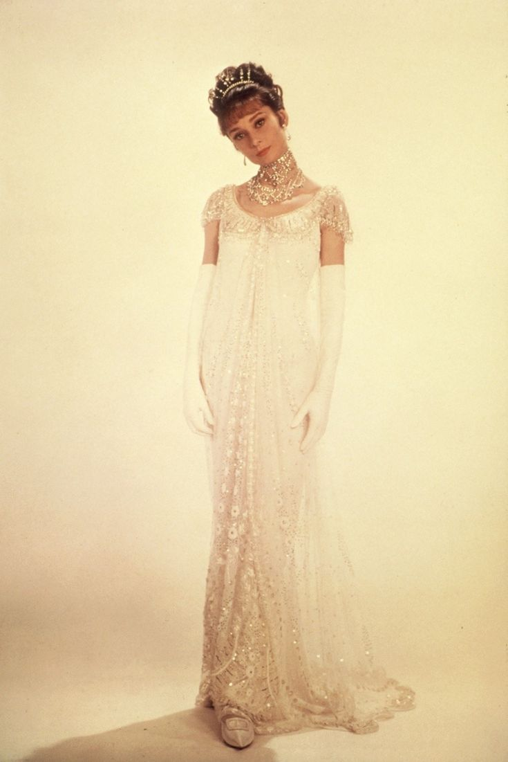 "Audrey Hepburn in a promotional shot for ""My Fair Lady"" in 1963 by Cecil Beaton."