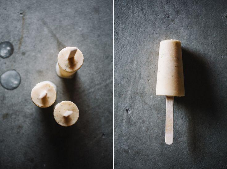 Cantaloupe & Mint Yogurt Pops . Sprouted Kitchen