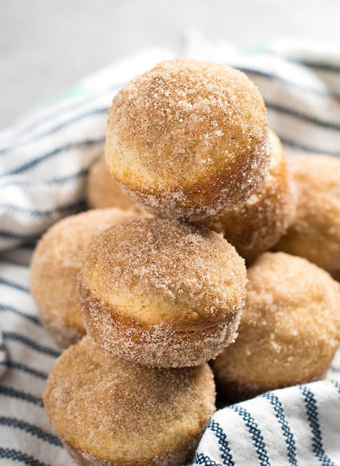 Doughnuts/Donuts AND muffins? With cinnamon sugar?! You bet!