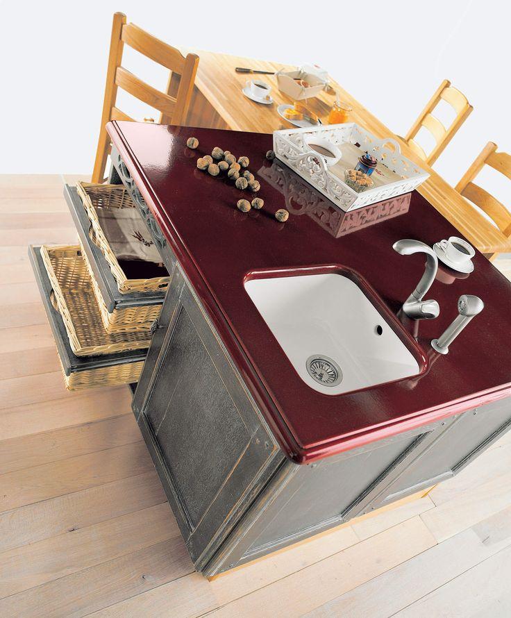 52 best Cuisines équipée images on Pinterest Solid oak, Wood