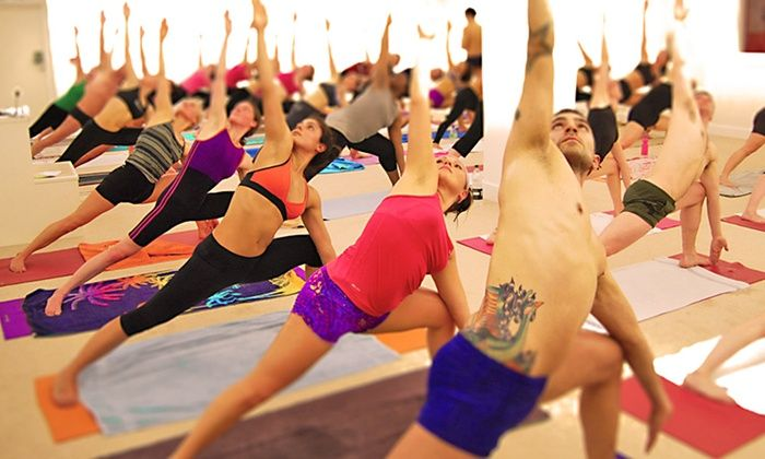 Bikram Yoga London - London: Five Sessions of Hot Yogaat Bikram Yoga London, Canary Wharf (81% Off)