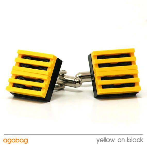 lego cuff links #Lego #Cufflinks #Christmas http://www.trendhunter.com