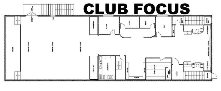 NIGHT CLUB FLOOR PLANS | FREE FLOOR PLANS
