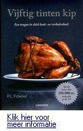 Vijftig tinten kip: een tonque in chick kook- en verhalenboek - F.L.Flower. Erotisch, verhalend kookboek met kipgerechten dat parodieert op de bestsellerroman 'Vijftig tinten grijs' van E.L. James. Reserveer: http://www.theek5.nl/iguana/?sUrl=search#RecordId=2.327686