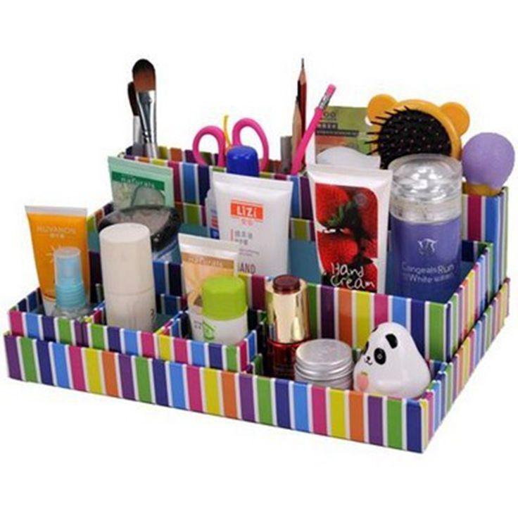 Экологически чистые продукты Полоса косметический ящик для хранения/Desktop storage box
