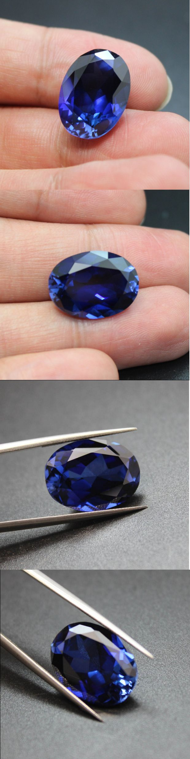 Tanzanite 4195: Natural Powder Melting Tanzanite Gemstone Aaaaa Blue Color Oval Loose Stones -> BUY IT NOW ONLY: $49.78 on eBay!