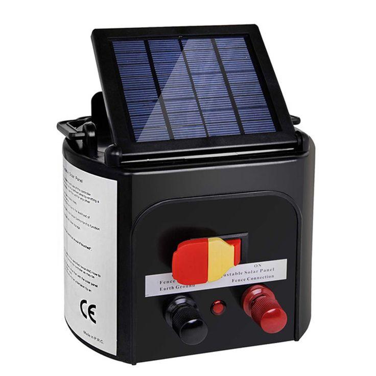 8KM Solar Potencia Valla Eléctrica Energizador Esgrima Cargador Energiser Farm Caballo