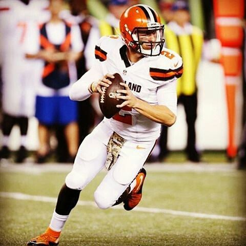 @Regrann from @sportscenter -  Browns are expected to start Johnny Manziel vs Steelers on Sunday. (via ESPN & media reports) #Regrann