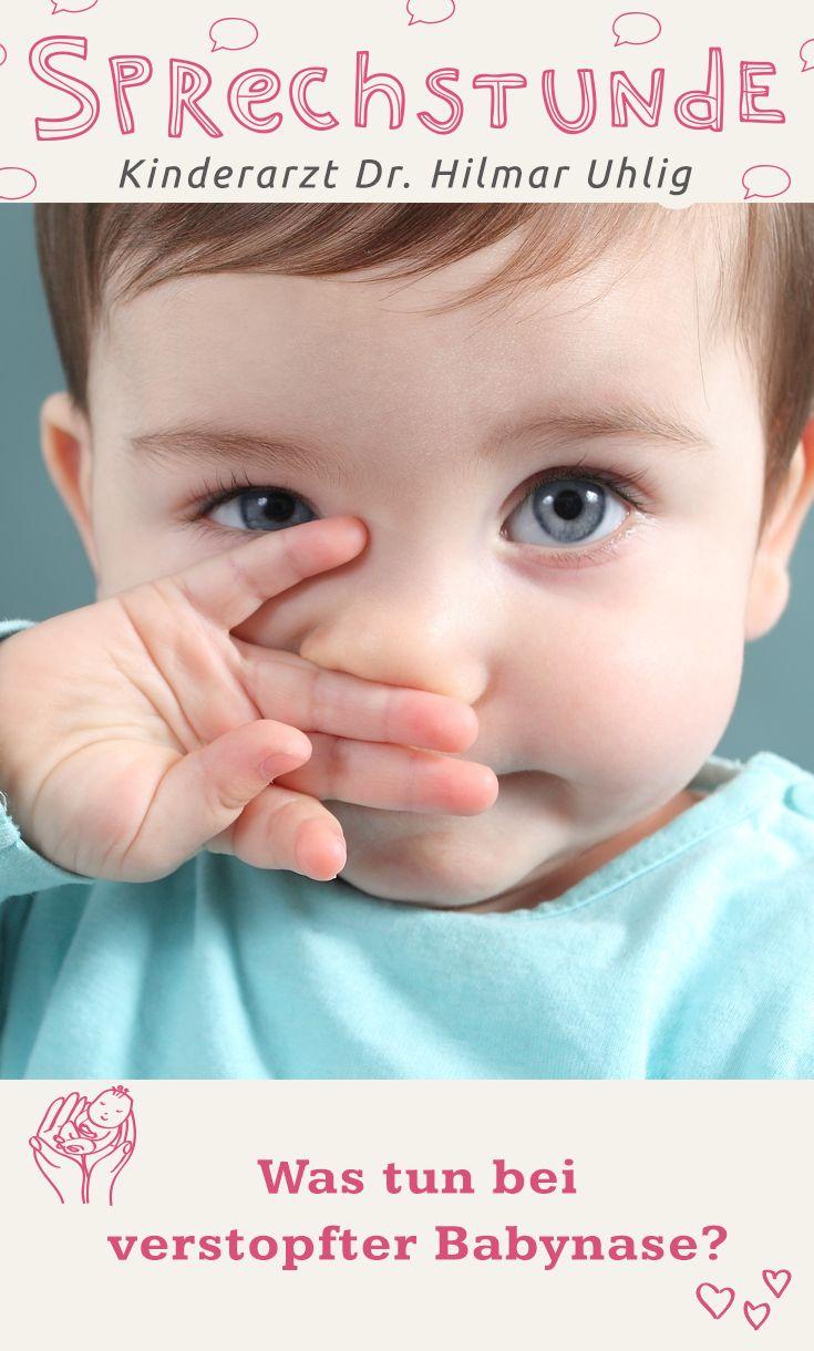 Noch so klein und schon ein Schnupfen. Wenn das Baby krank ist, leiden die Eltern mit. Aber wie bekommt man das kleine Näschen wieder frei? Ausschnupfen geht schließlich noch nicht. Dr. Uhlig hat ein paar Tipps, wie Du Deinem Kleinen helfen kannst.