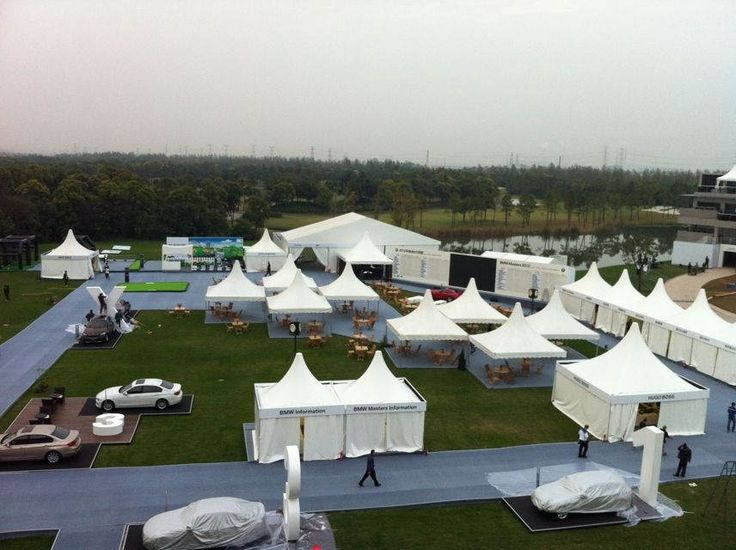 Pagoda Tent | Temporary Structures | Reception Tent | http://www.shelter-structures.com/