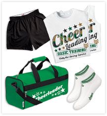 Cheer Practice Wear at Omni Cheer