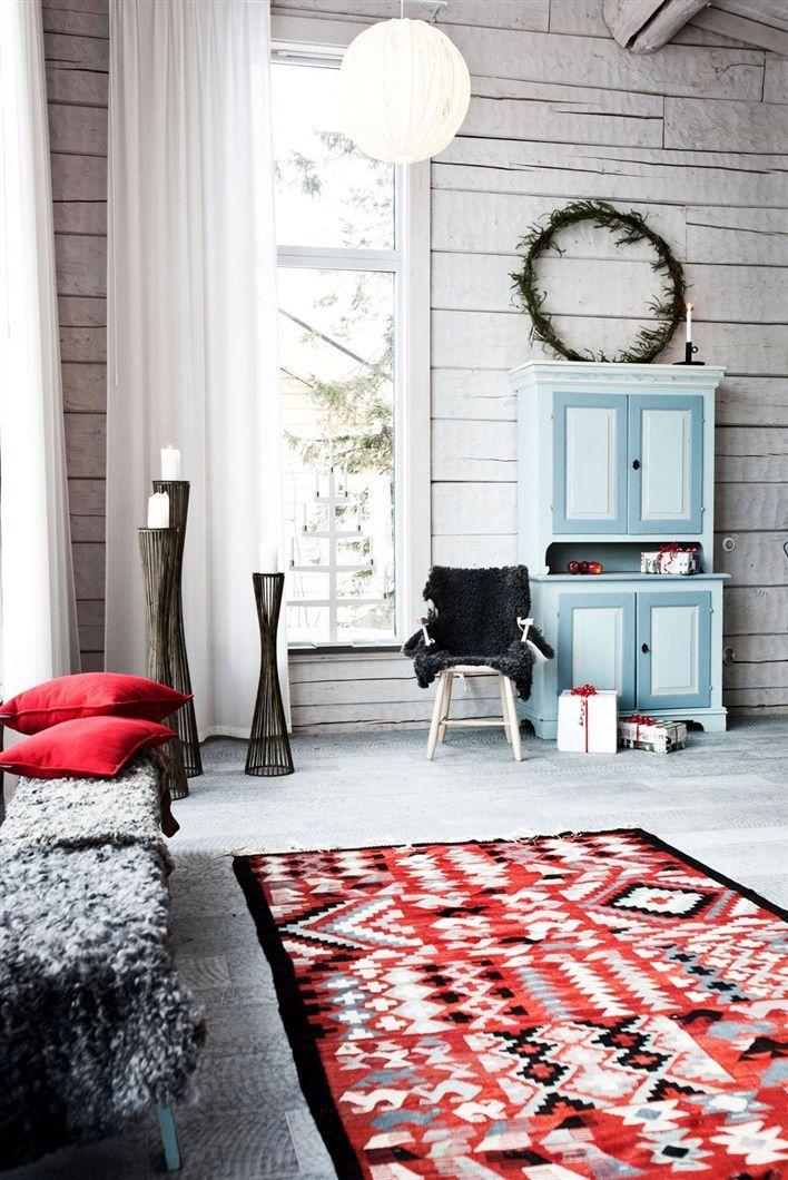 Scandinavian winter in July....yes please :)