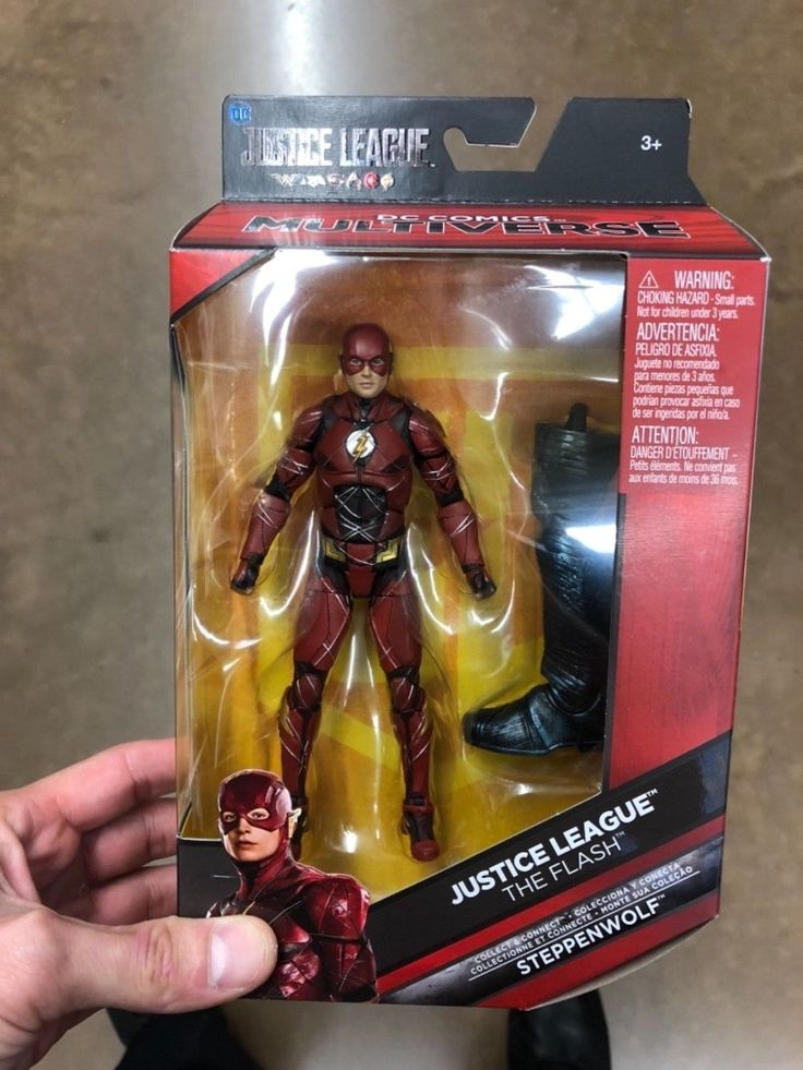 DC Comics Multiverse Justice League The Flash Action Figure New Steppenwolf