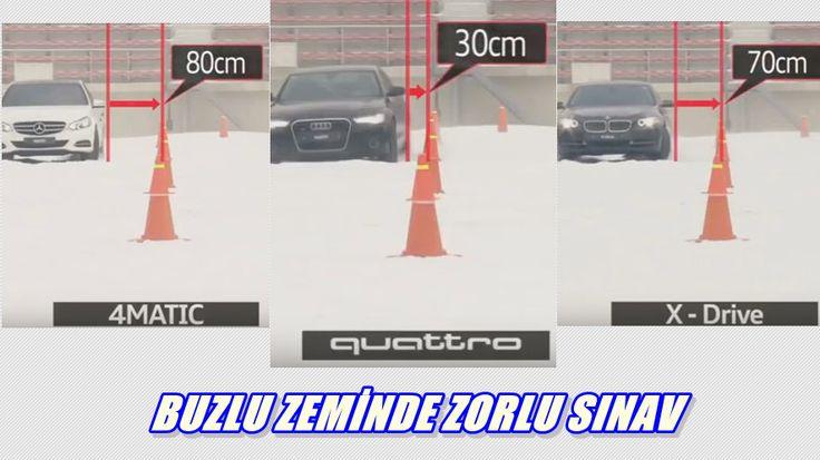 Mercedes 4matic Audi Quattro Bmw Xdrive Snow Test