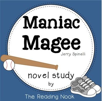 best maniac magee ideas novel definition it  a complete novel study for maniac magee including graphic organizers pre reading summaries