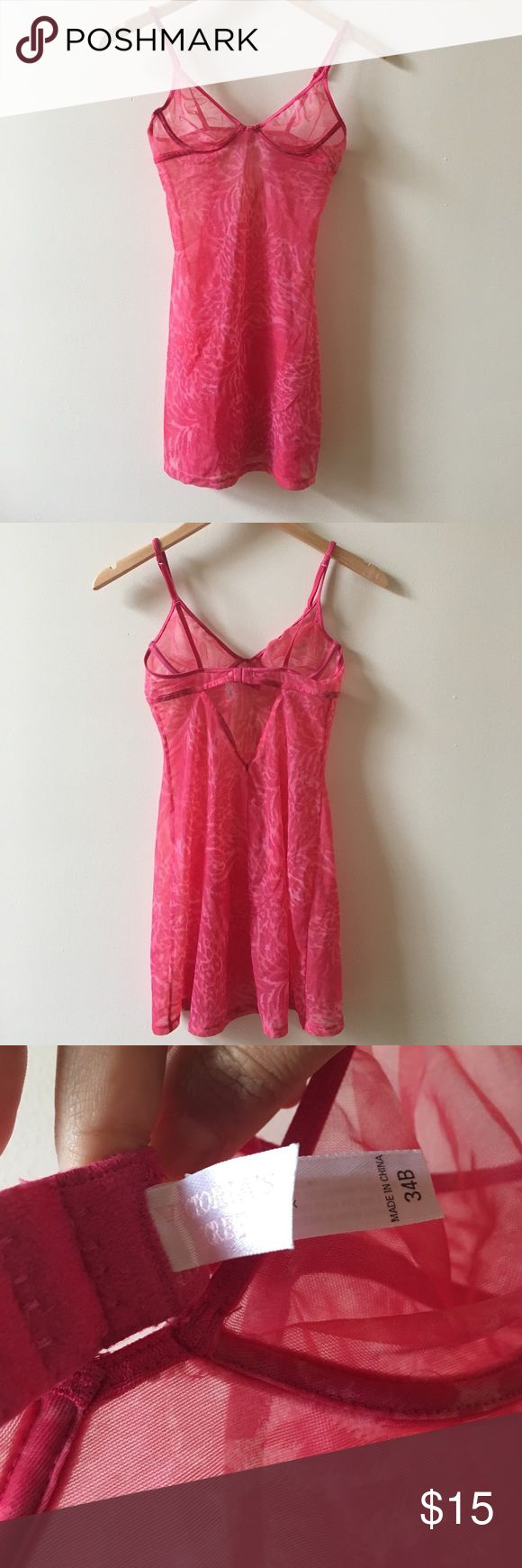 Pink lingerie Valentine's Day Perfect lingerie for Valentine's Day. Size 34B PINK Victoria's Secret Intimates & Sleepwear