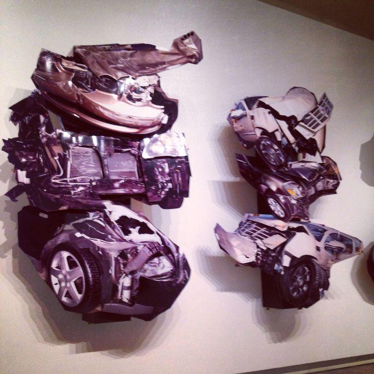 David LaChapelle Cars - crash!