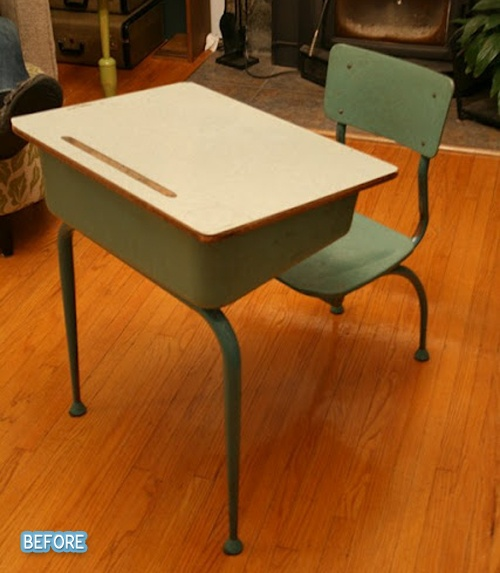 Old school desk need one at home for the kids that way for School desks for home