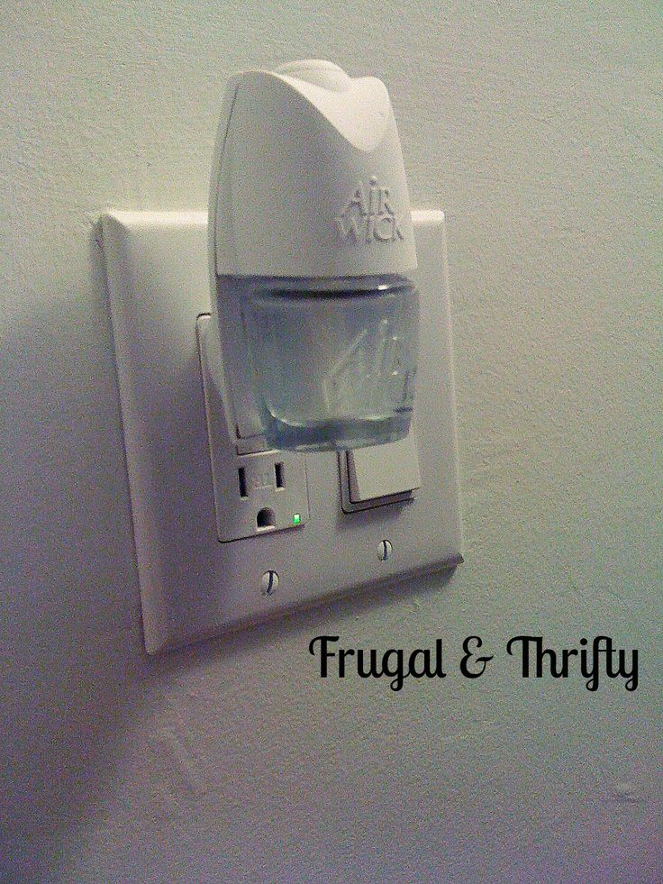 Frugal & Thrifty : Do It Yourself ~ Airwick Plugin Refill