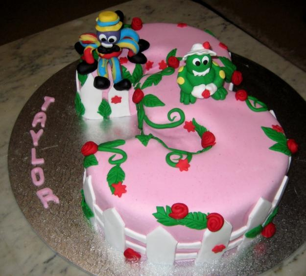Fairy Birthday Cake Designs