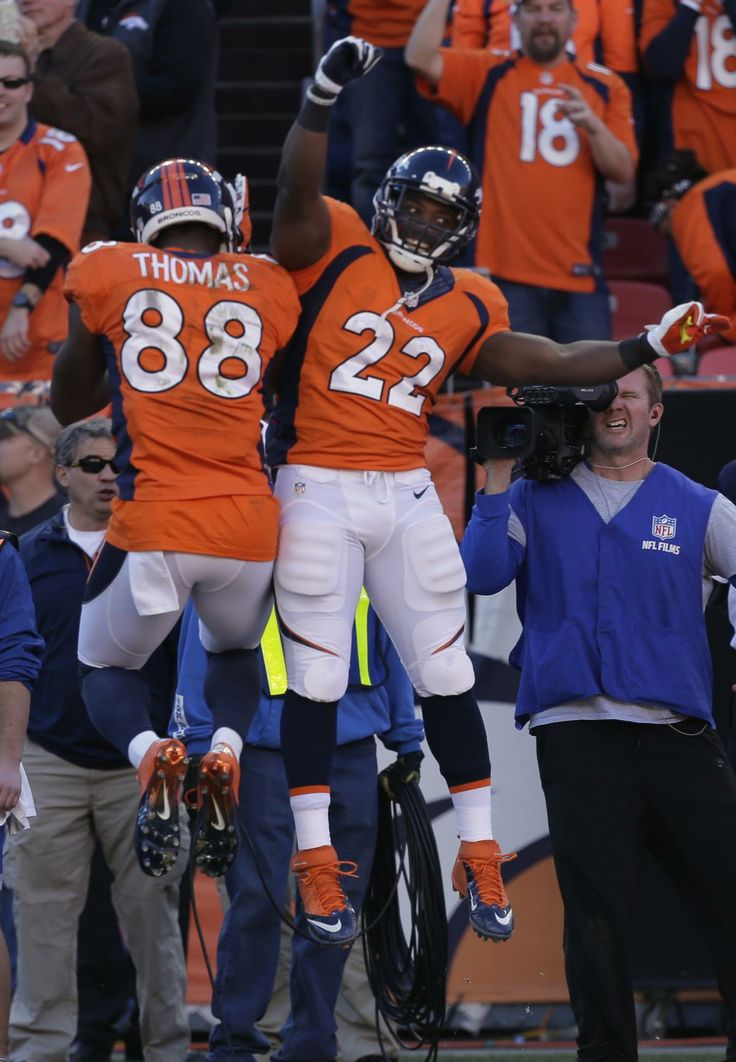Demaryius Thomas and C.J. Anderson
