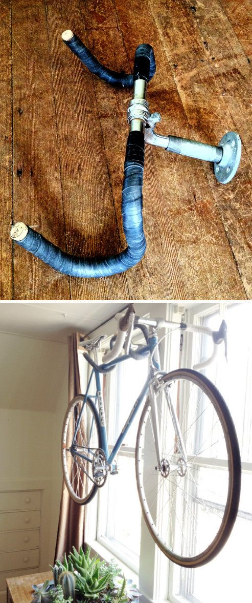 Homemade Bicycle Hanger