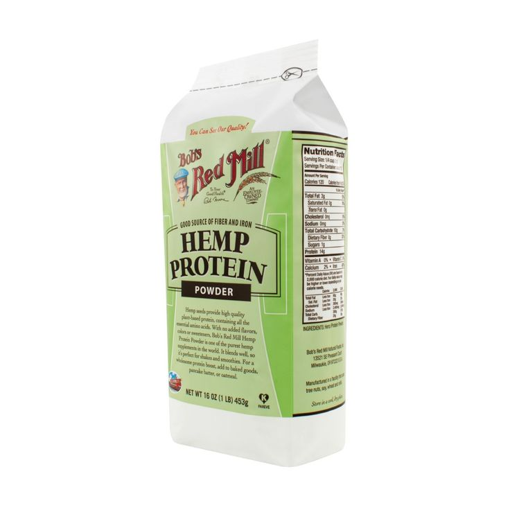 Bob's Red Mill Hemp Protein Powder is an excellent way to boost your protein from a plant-based source. Not only does it offer 14g of protein per serving, but it's also rich in dietary fiber, iron, an