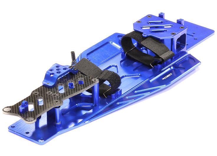 Performance Conversion Chassis Kit for 1/10 Traxxas Rustler & Bandit VXL