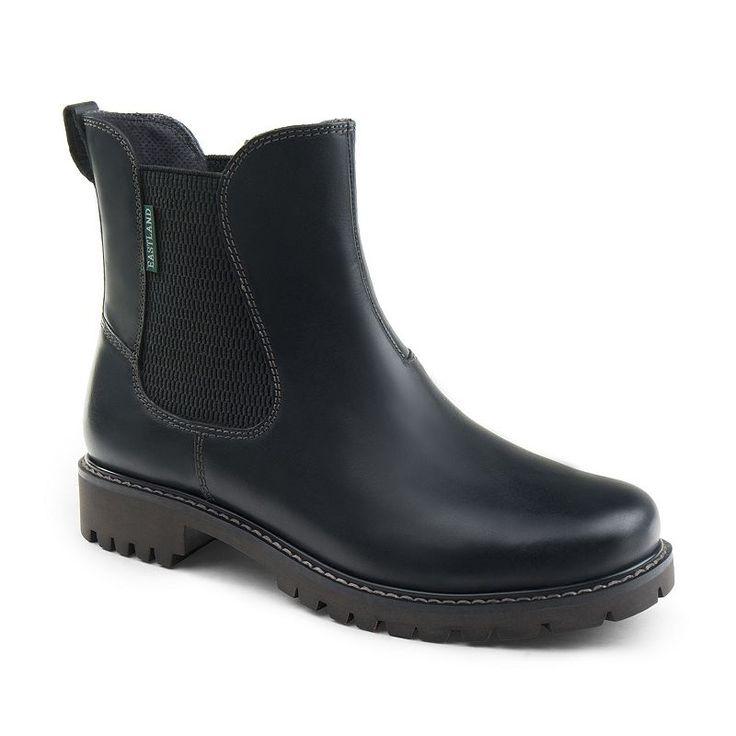 Eastland Ida Women's Leather Chelsea Boots, Size: medium (9.5), Black