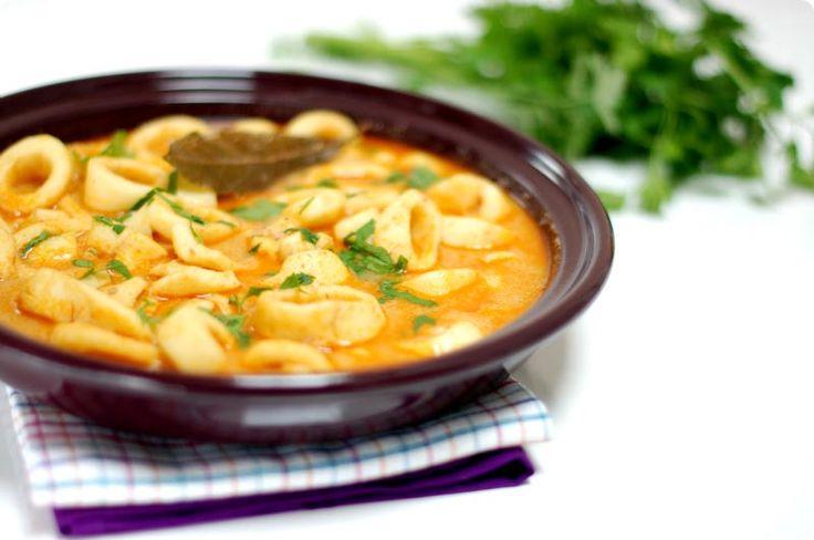 Calamares en salsa de mostaza con Thermomix | Velocidad Cuchara
