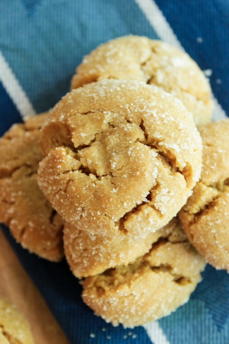 Chewy Peanut Butter Cookies (very good, very chewy! use good pb, not ...