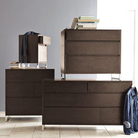 Hudson Dressers Want The 6 Drawer 3 Drawer For A Sleek