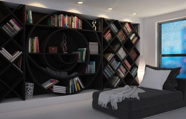 Domowa biblioteka. Pomysłowe regały i półki na książki