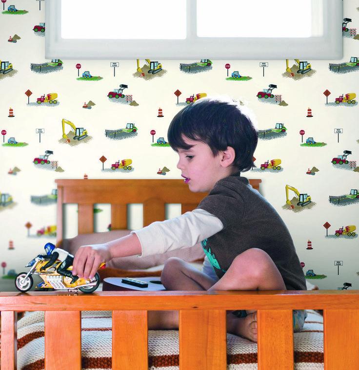 17 mejores im genes sobre papel pintado infantil y juvenil - Papel pintado infantil nino ...
