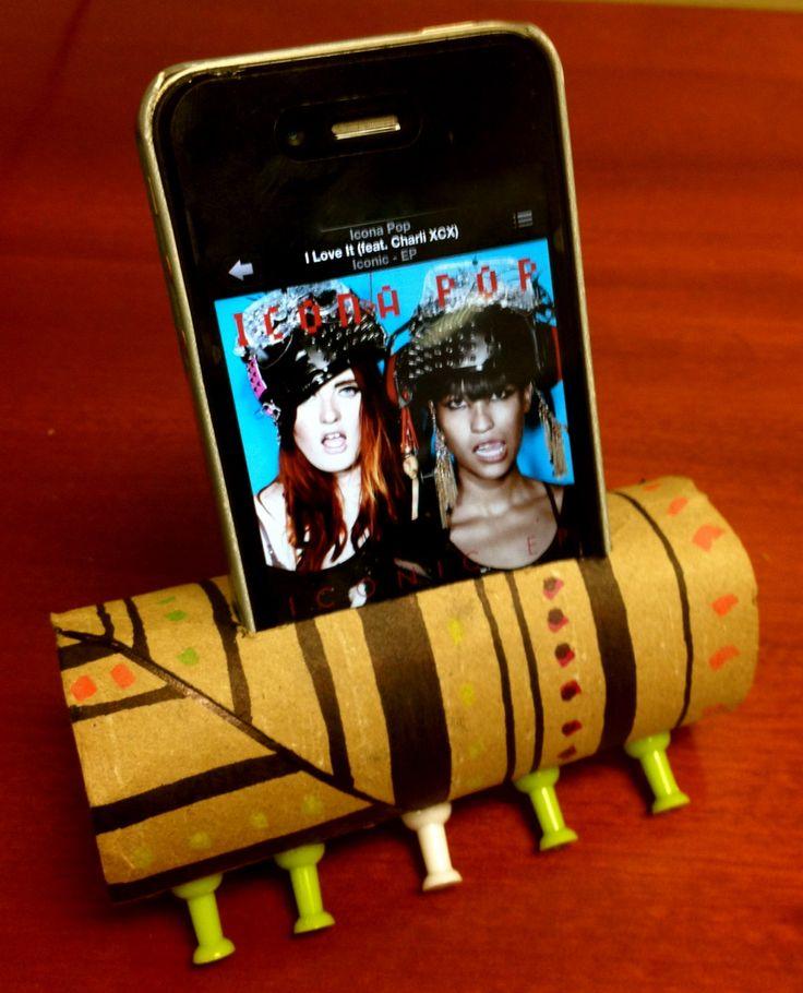 DIY: Toilet Paper Roll iPod Speaker : Forever Twenty Somethings