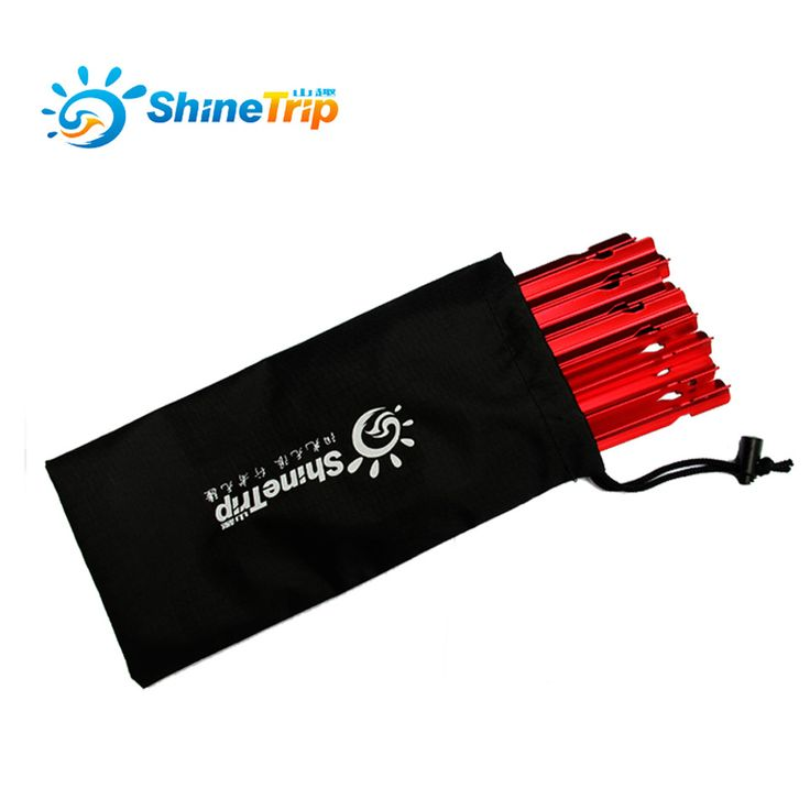 2017 hot new products 23cm portable tent peg package storage container bag sundries bag