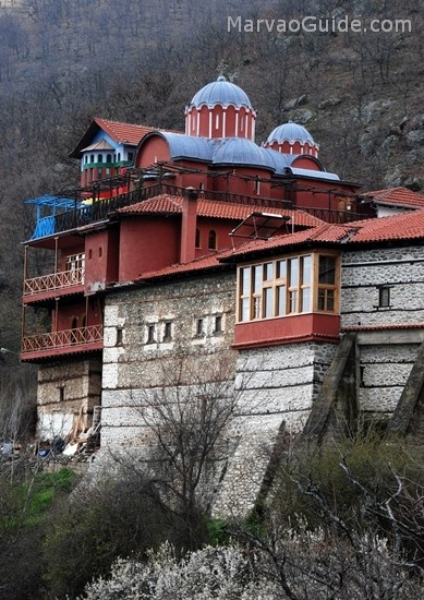 Orthodox monastery in Kastoria